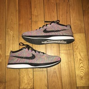 "Nike multicolor Flyknit Racer ""Grey Tongue"""